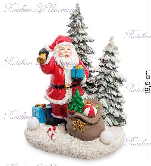 """Музыкальная новогодняя миниатюра с подсветкой """"Санта Клаус"""""""
