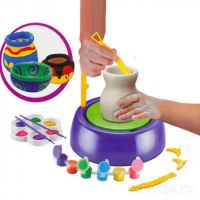 Детский Гончарный набор Pottery Wheel