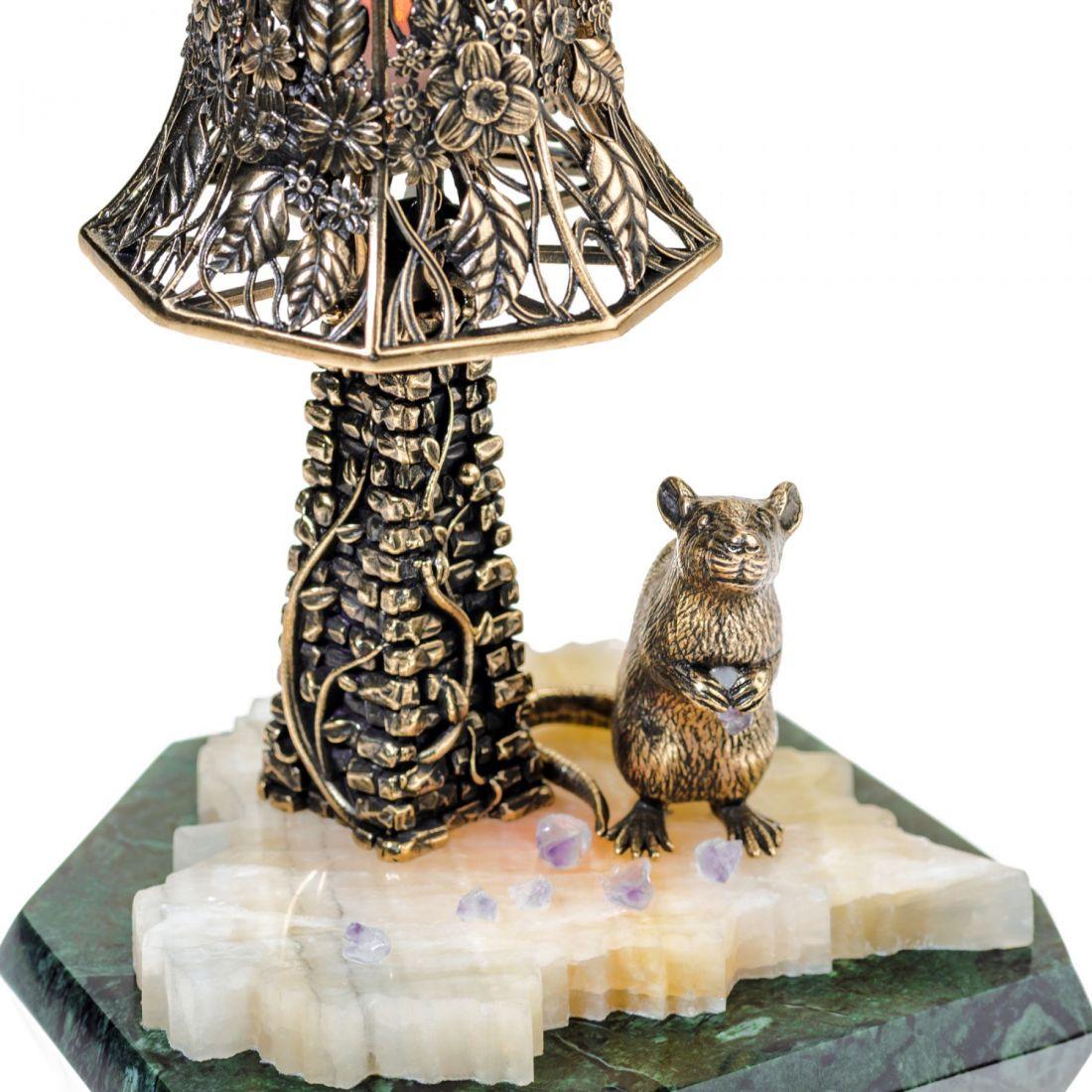 Светильник с крысой