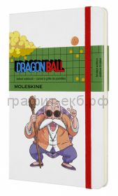 Книжка зап.Moleskine Large DRAGONBALL пунктир Master Roshi LEDGQP066B