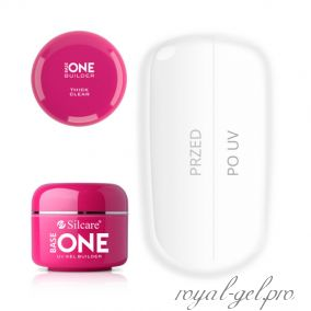 Gel Base One Thick Clear Silcare 30 гр