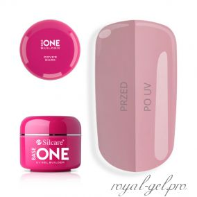 Gel Base One Cover Dark Silcare 15 гр