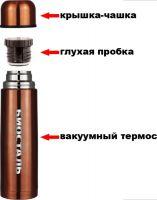 Цветной термос Биосталь NB 1 литр