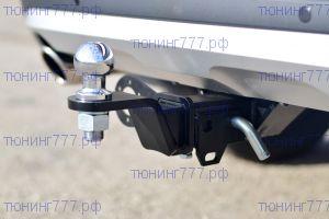 Фаркоп (тсу) PT-G, крюк под квадрат, тяга 1.5т