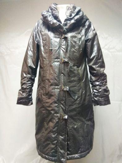 Пальто женское на синтепоне с капюшеном