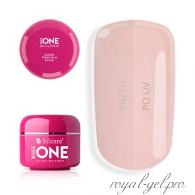 Gel Base One Dark French Pink Silcare 15 гр