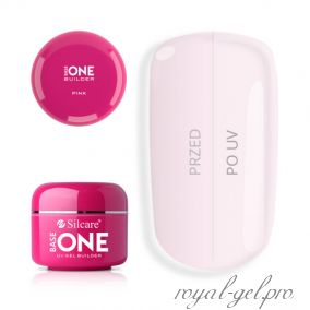 Gel Base One Pink Silcare 1000 гр