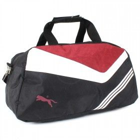 117-SP-324 ч/сер Спортивная сумка