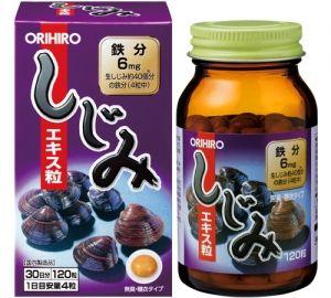 ORIHIRO Экстракт Корбикулы (двустворчатого моллюска) на 30 дней