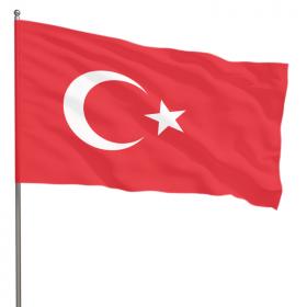 Флаг Турции государственный 90х150 см