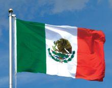 Флаг Мексики государственный 90х150 см