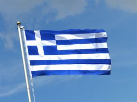 Флаг Греции государственный 90х150 см