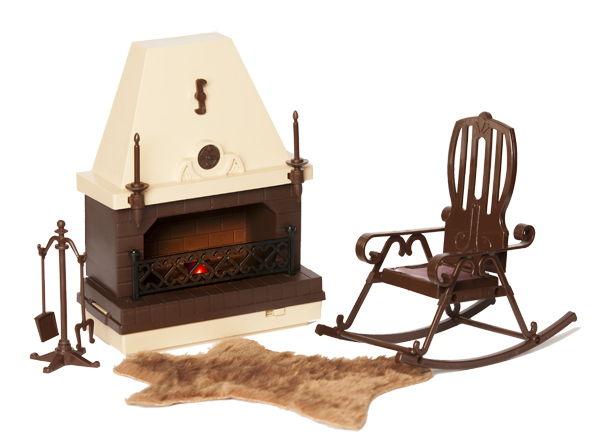 Набор кукольной мебели для каминной комнаты Коллекция