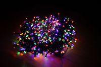 Гирлянда Luca Lighting мультиколор (1000 ламп, длина гирлянды 2000 см) для ёлки 230-260 см