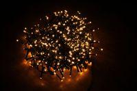 Гирлянда Luca Lighting теплый свет (550 ламп, длина гирлянды 1100 см) для ёлки 185 см
