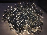 Гирлянда Luca Lighting теплый белый свет (370 ламп, длина гирлянды 740 см) для ёлки 120-155 см