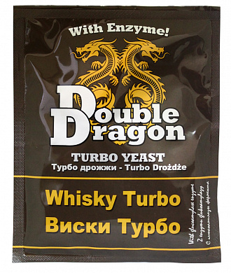 Дрожжи Double Dragon Whisky Turbo, 72 гр