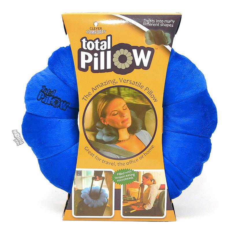 Подушка-Трансформер Для Путешествий Total Pillow (Тотал Пиллоу), Цвет Синий