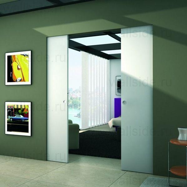 Пенал для дверей Syntesis Line Double высотой 2100 мм