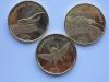 Жуки Набор монет Суматра 500 рупий 2019 (3 монеты )3 серия