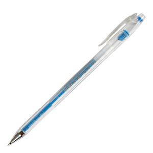 Ручка  гелевая CROWN 0,7 мм голубая