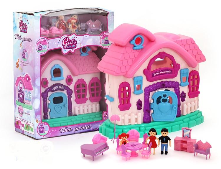 Дом для кукол  со Звуковыми и световыми эффектами