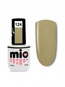 MIO гель-лак для ногтей 124, 10 ml