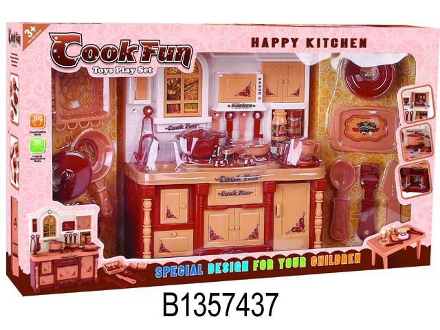 """Мебель для кукол """"Кухня"""" в/к"""