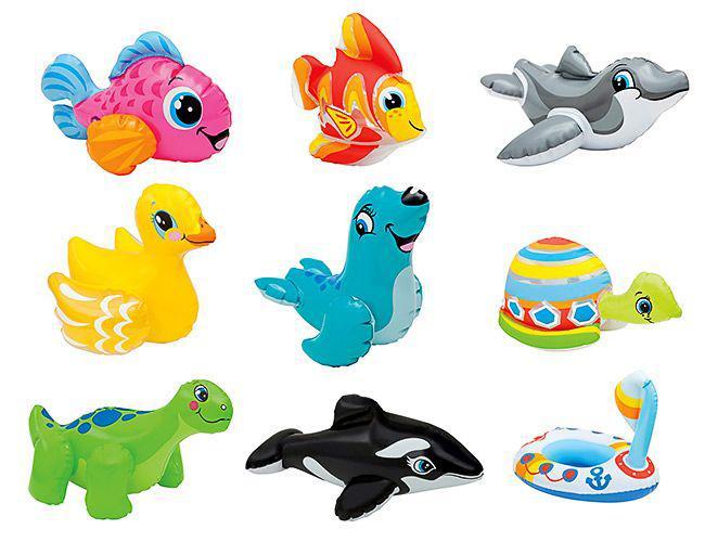 Маленькие надувные игрушки в ассортименте 25см*20см