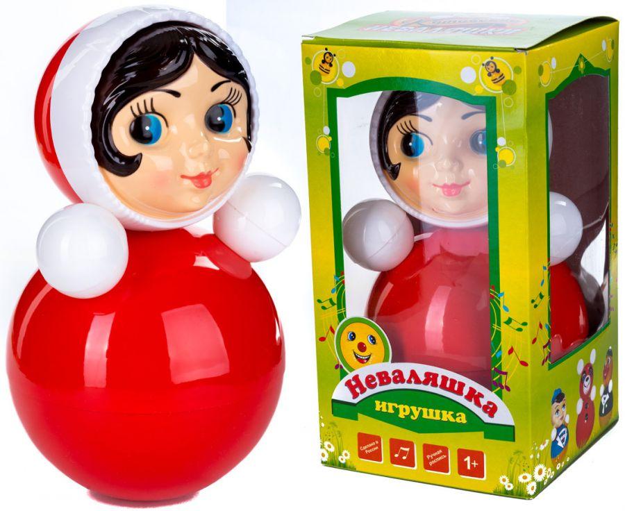 """Муз.игрушка """"Неваляшка""""высота 26.5см"""