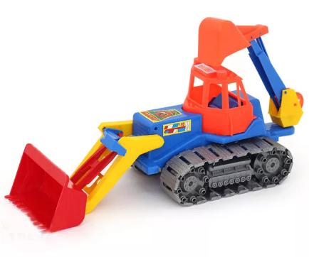 Трактор, 45х15х18 см