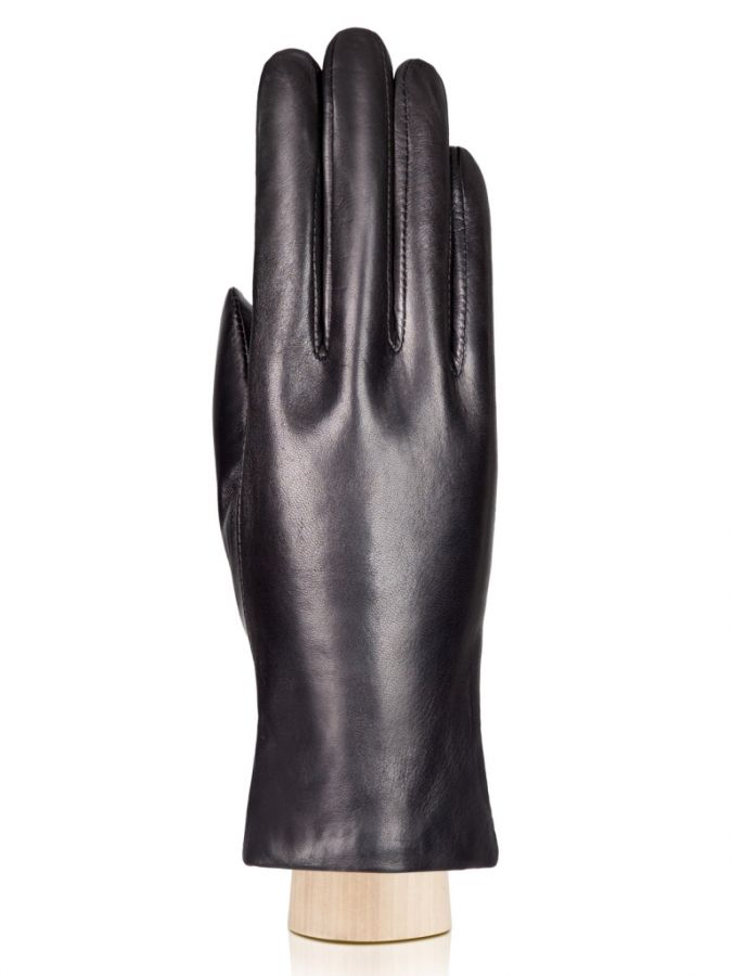 Кожаные перчатки на шелковой подкладке ELEGANZZA