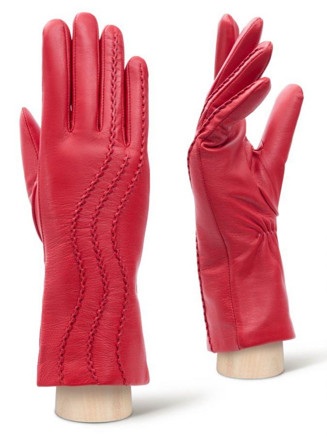 Стильные кожаные перчатки LABBRA