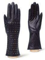 Стильные кожаные перчатки ELEGANZZA