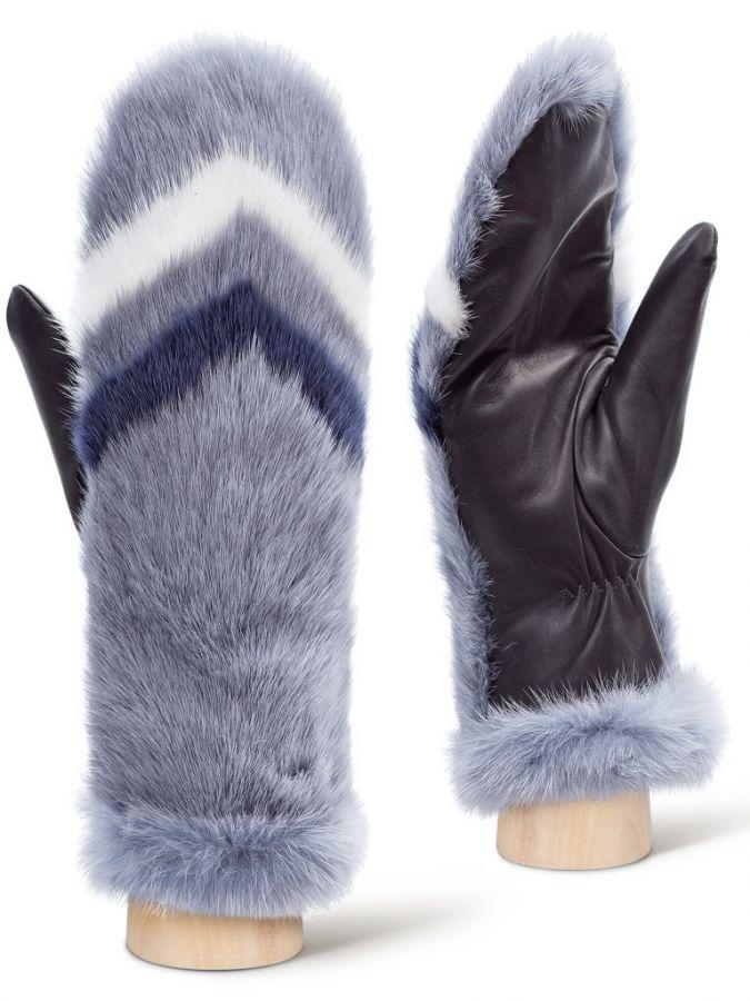 Кожаные рукавицы ELEGANZZA