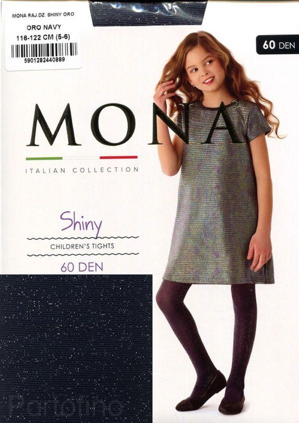 MONA SHINY ORO 60den колготки детские