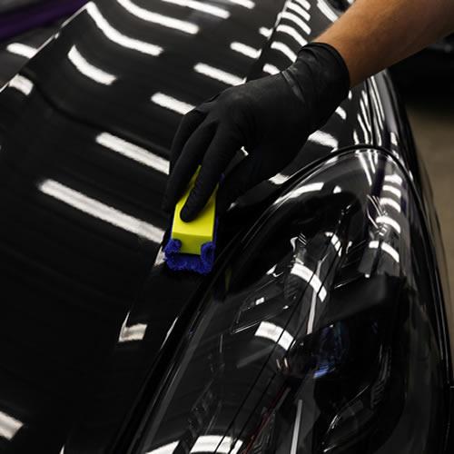 Нанесение керамического покрытия кузова авто Tevo S60