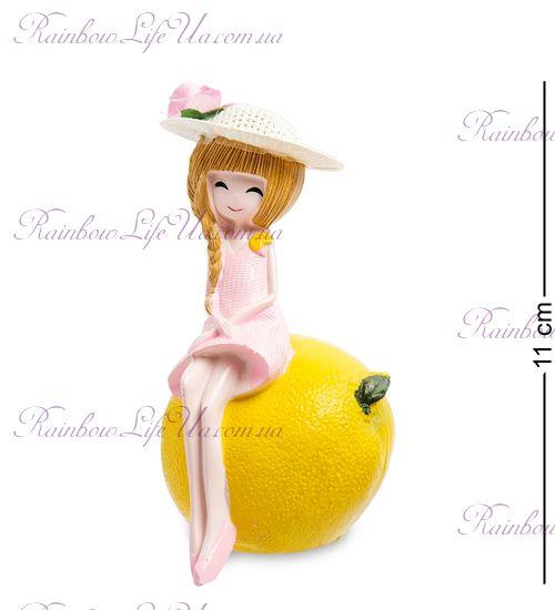 "Фигурка девочка на лимоне ""MF"""