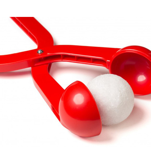 Снежколеп (диаметр снежка 5 см), цвет - красный.