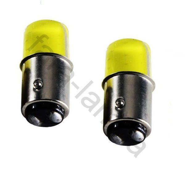 Автомобильные светодиодные лампы двухконтактная цоколь 1157 (P21/5W)