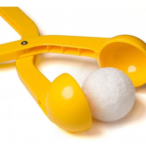 Снежколеп (диаметр снежка 5 см), цвет - жёлтый.