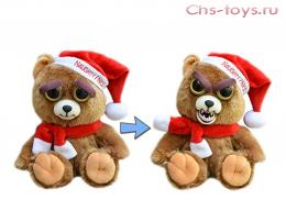 Игрушка Feisty Pets Мишка Санта