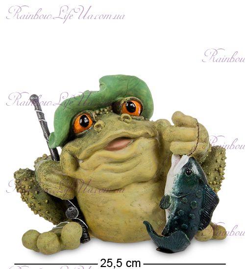 "Копилка лягушка рыбак ""Sealmark"""