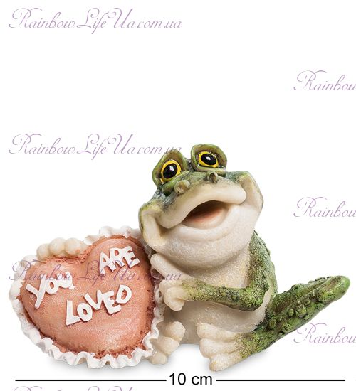 """Фигурка лягушка с сердцем """"Sealmark"""""""