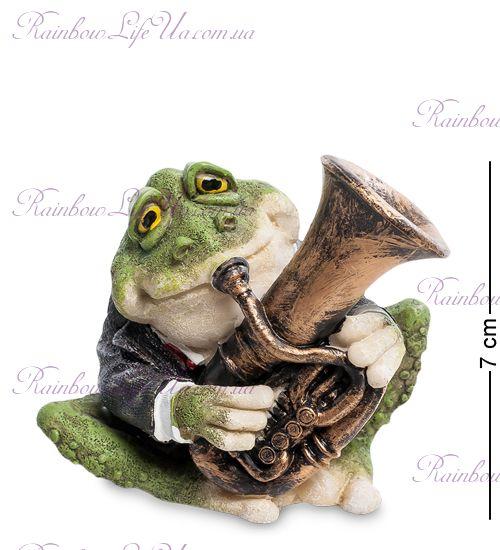 """Фигурка лягушка музыкант трубач """"Sealmark"""""""