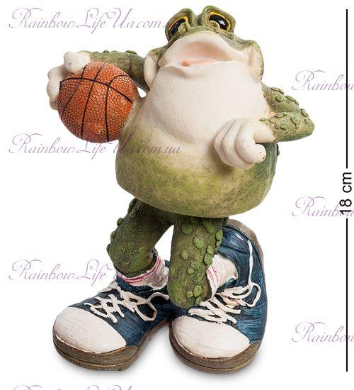 "Фигурка - пружинка лягушка баскетболист ""Sealmark"""