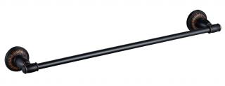 Держатель для полотенец  60 см Savol S-606624H.черный