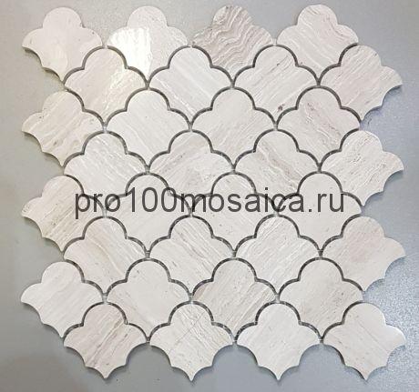 KA114 Мозаика серия Камень размер чипа 65*60, мм: 270*270*7 (Happy Mosaic)