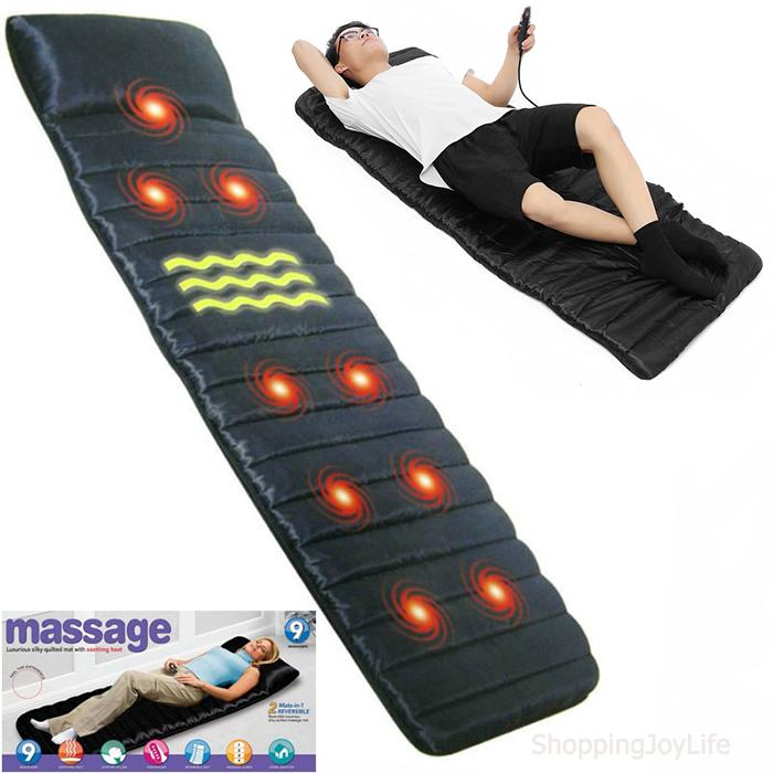 Массажный матрас с пультом управления Massage mat