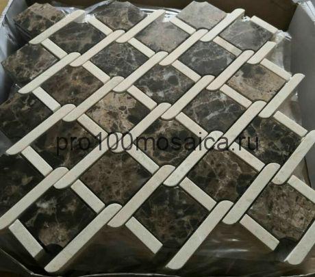 KA50 Мозаика серия Камень размер чипа 68*48, мм: 325*280*8 (Happy Mosaic)